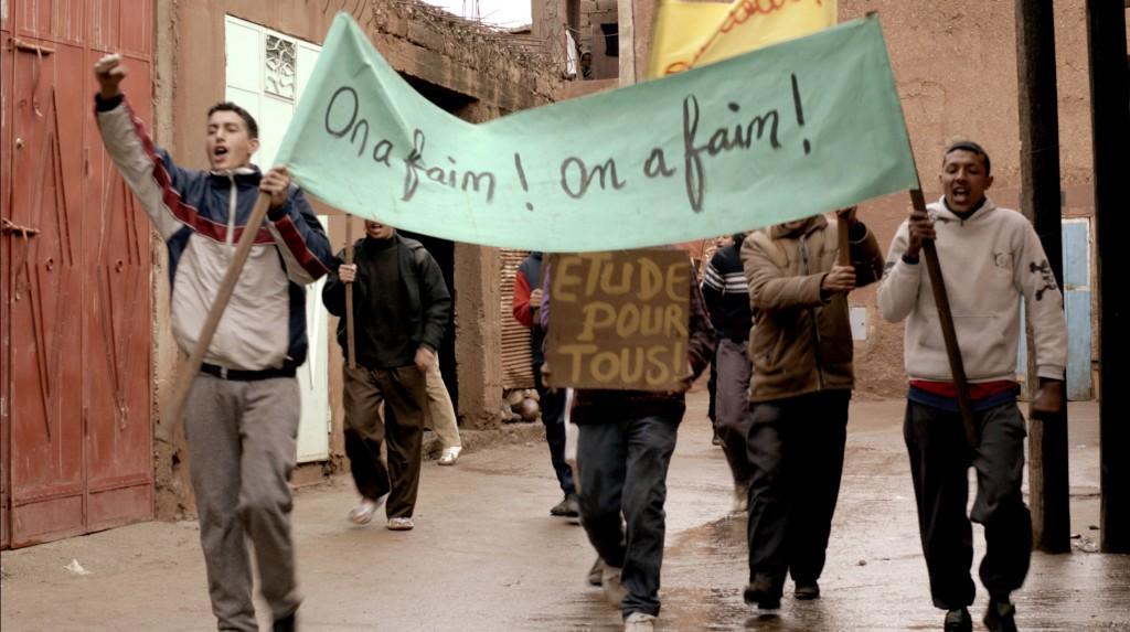 Manif de la faim_Maroc